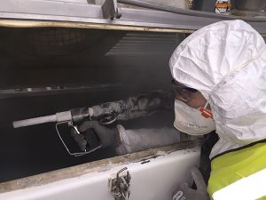 How does Dry Ice Blasting work - Polar IceTech Food & Beverage Industry Ireland Dry Ice Blasting Cryogenic Cleaning