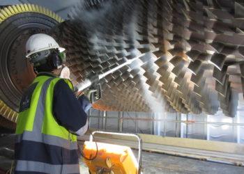 Turbine Dry Ice Blasting